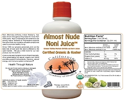 Almost Pure Organic Noni Juice 32oz