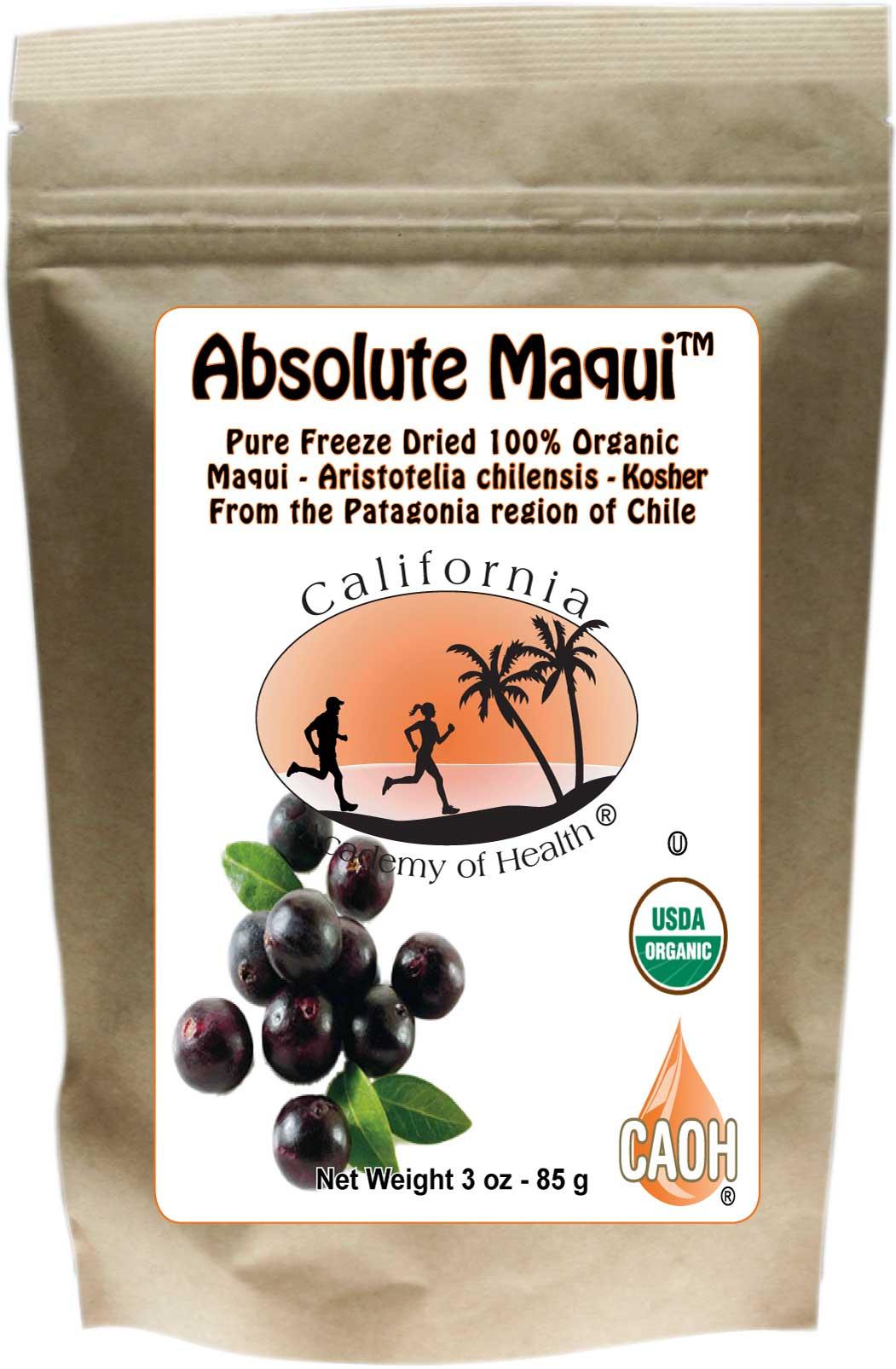 Absolute Maqui Powder 3 Oz R00269