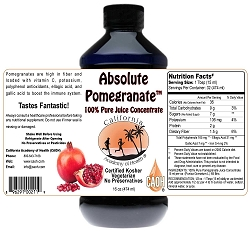 Absolute Pomegranate Juice 16 oz