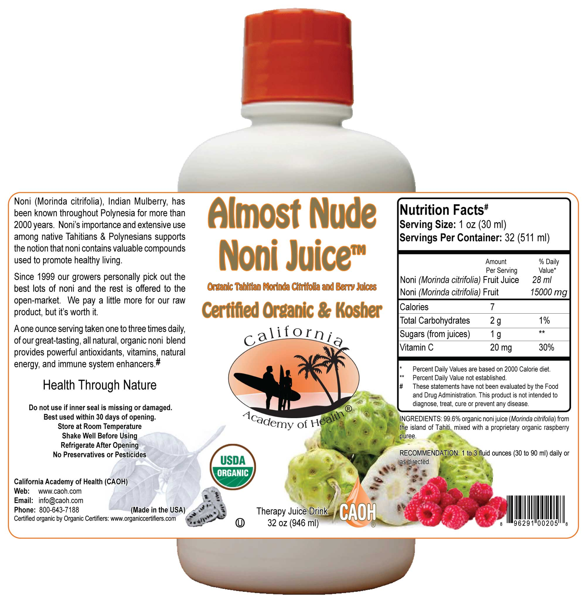 Wholesale Almost Nude Noni Juice<br>24 Minimum