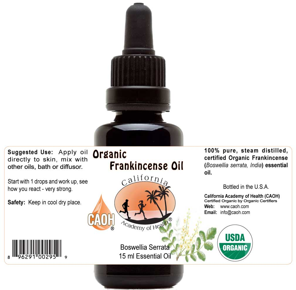 Frankincense Organic Essential Oil 15 ml
