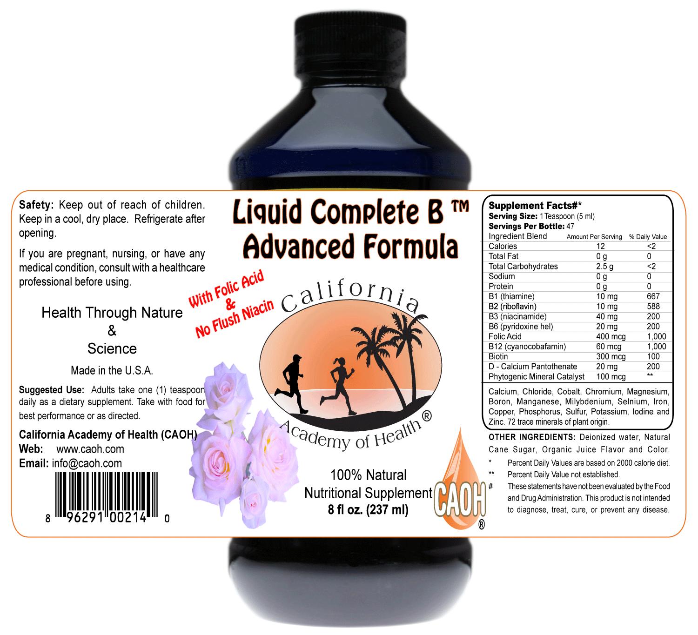 A liquid Vitamin B Complex