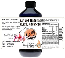 Natural H R T with Resveratrol Extracts