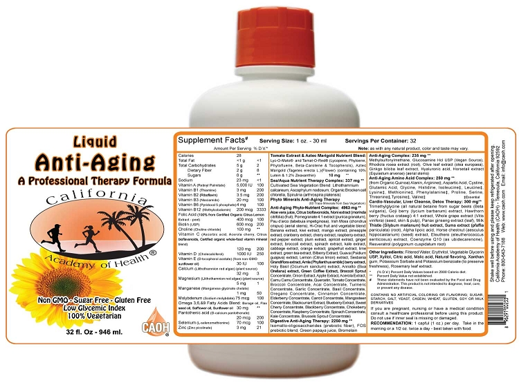 Liquid Anti Aging Therapy