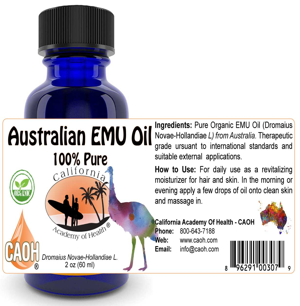 EMU Oil From Australia 60 ml 2 oz