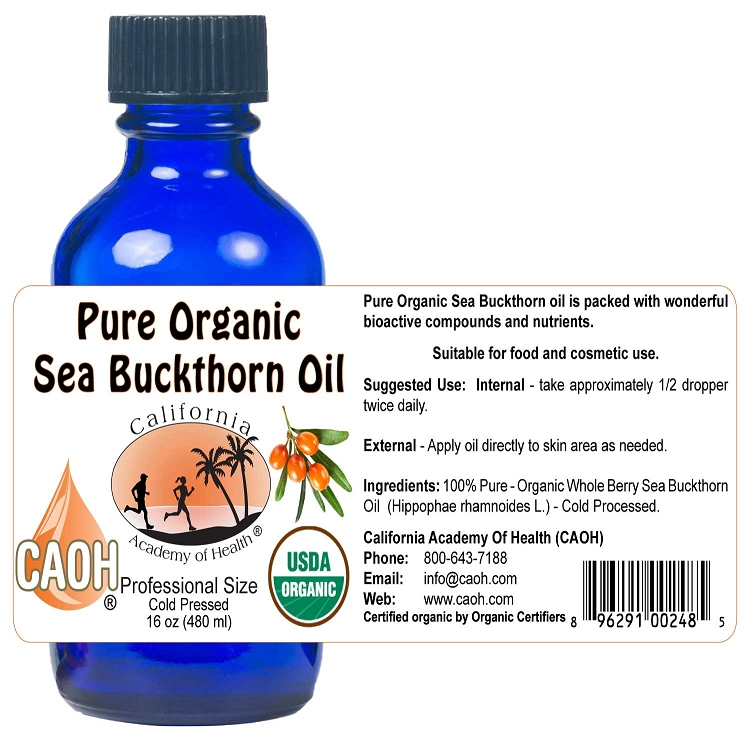 Wholesale 16oz Pro Size Seabuckthorn Oil<br>2 minimum