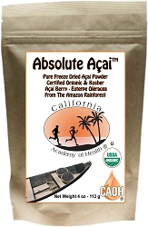 Acai Powder 100 Percent Pure Organic Since 2008