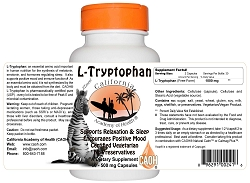 Absolute L Tryptophan Vegetarian 60 500 mg Capsules