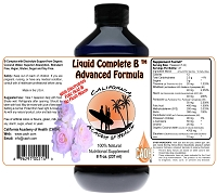 Liquid Complete Vitamin B 8 oz