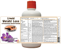 Liquid Weight Loss Professional Therapy Formula 32 oz