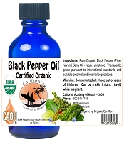 Organic Black Pepper Piper Nigrum Berry Oil 30 ml 1 oz