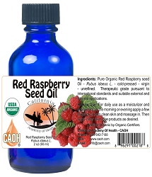 Organic Red Raspberry Rubus idaeus seed oil 60 ml