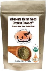 Organic Hemp Seed Protein Powder
