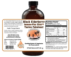Black Elderberry Immune Plus Elixir