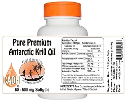 Pure Krill Oil Softgels