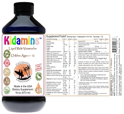 Kidamins Liquid MultiVitamins