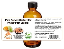 100 Percent Pure Organic (Barbary Fig) Prickly Pear Seed Oil