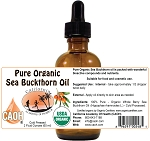 Sea Buckthorn Oil Pure and Organic 2 oz