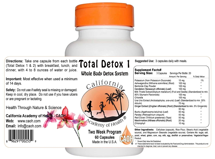 Total Detox 2 Bottle Set 2 Week Program
