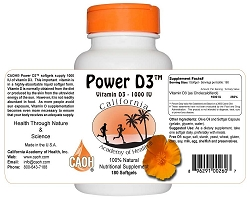 Power D3 Softgels