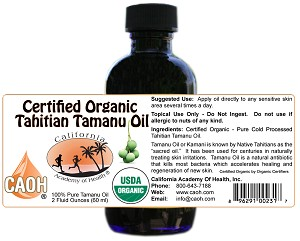 Wholesale 2 oz Tamanu Oil<br>12 Minimum