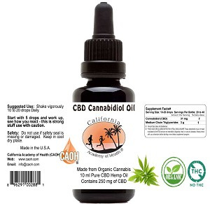 CBD Cannabidiol Oil by CAOH