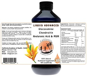 Liquid Glucosamine and Chondroitin 16 oz