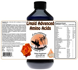 Liquid Advanced Amino Acids