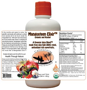 Wholesale Mangosteen Elixir<br>24 Minimum