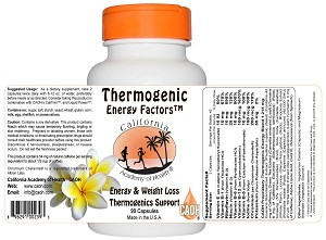Thermogenic Energy Factors